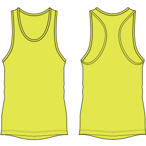 All our patterns have been tested and they are made for garments production Sleeveless T-Shirt 7154 MEN T-Shirts