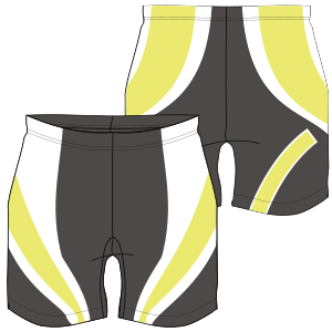 All our patterns have been tested and they are made for garments production Volleyball short 7137 LADIES Shorts