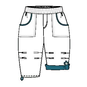 Pantalon Poplin 00221 Pantalones Bebes Patrones Industriales De Moda